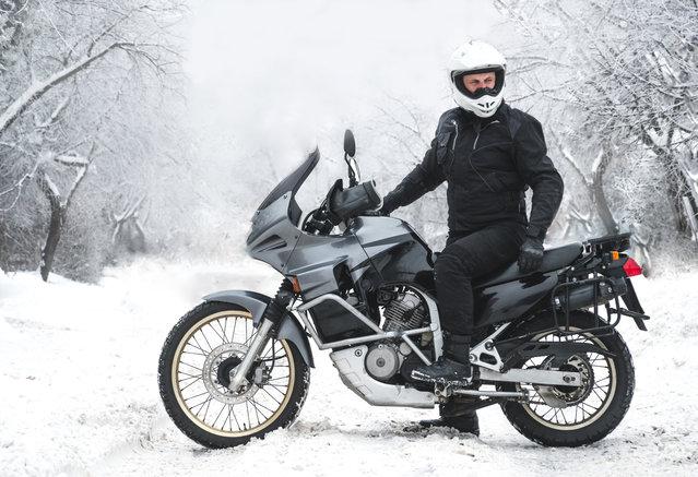 Conseils gérer froid à moto